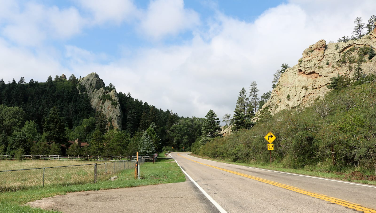 Highway of Legends Byway SH 12 The Gap near Cuchara, CO