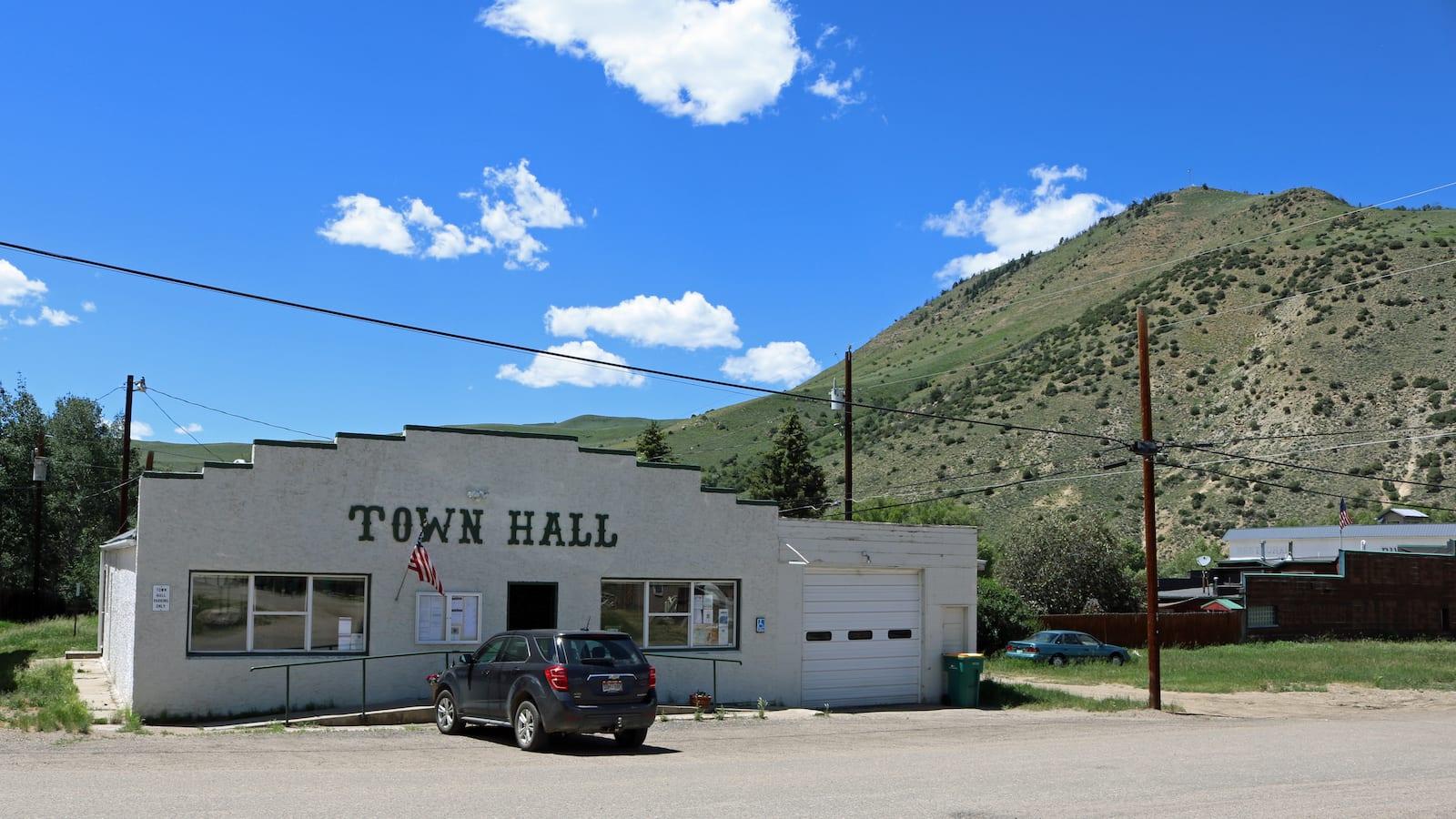 Hot Sulphur Springs Town Hall Colorado