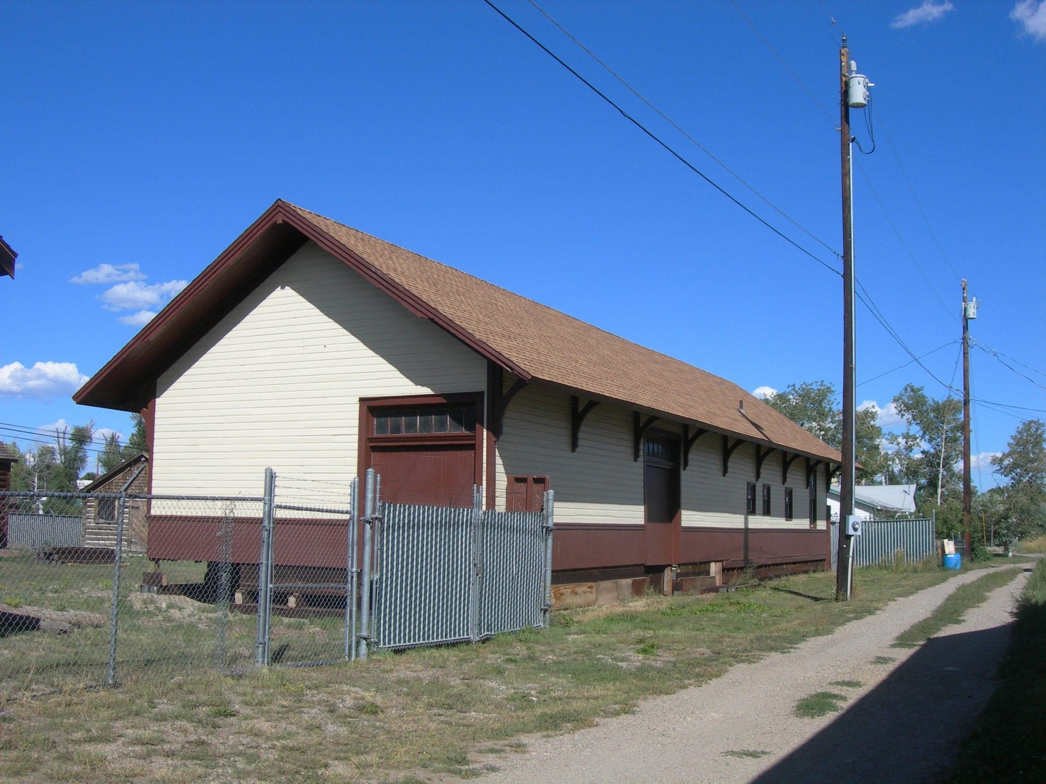 Old Kremmling Train Depot