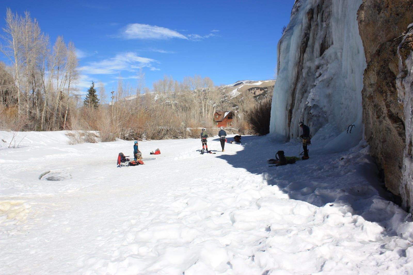 Lake City Ice Park Colorado