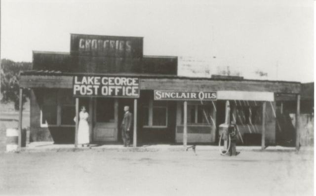 Lake George CO Post Office Circa Early 1900s
