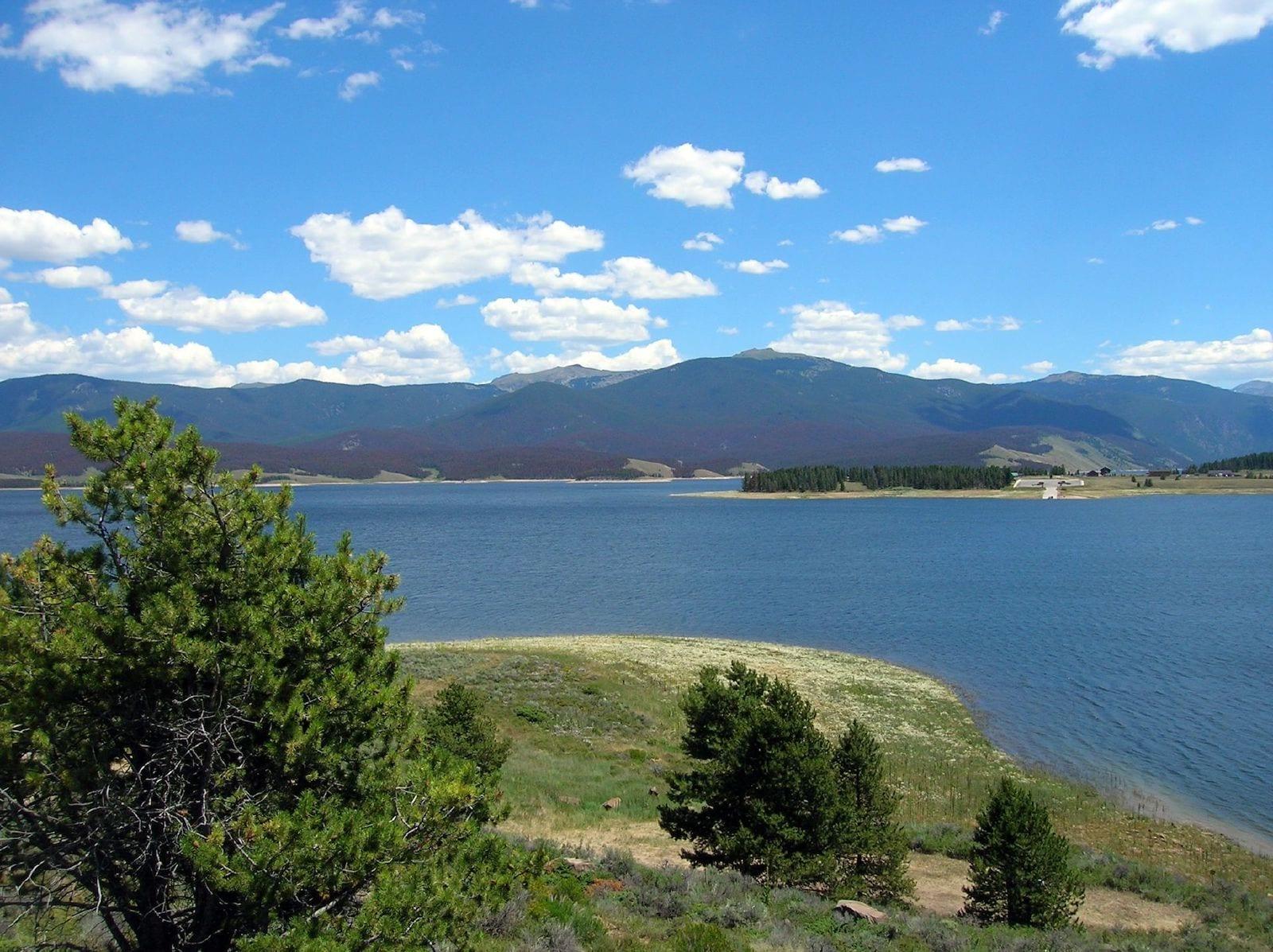 Lake Granby Colorado Summer