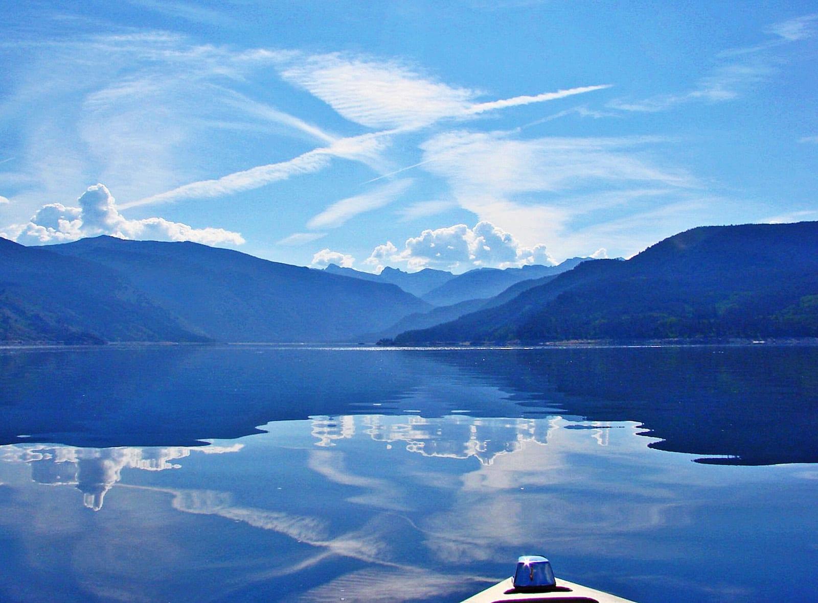 Lake Granby and Continental Divide Colorado
