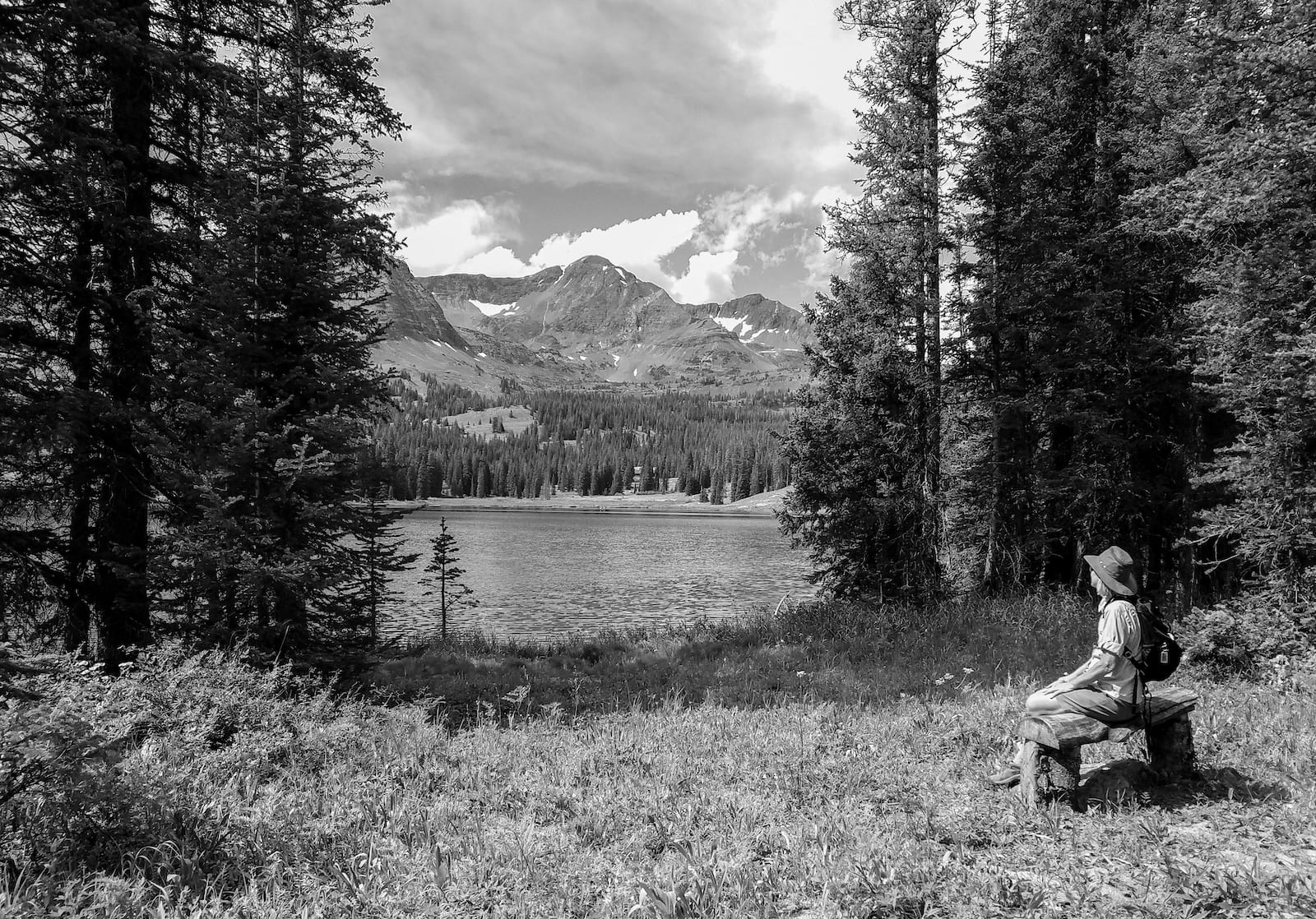 Lake Irwin Ruby Peaks Crested Butte CO