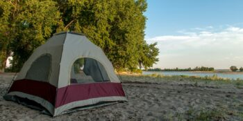 Lake McConaughy Dispersed Tent Camping Nebraska