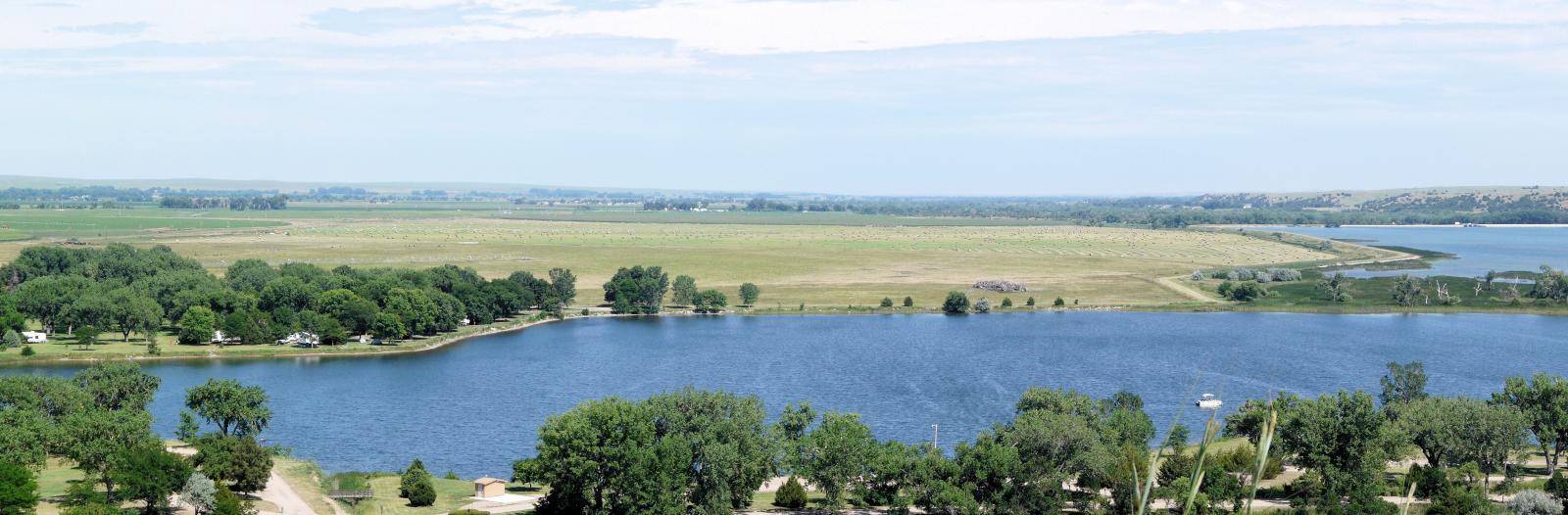Lake Ogallala Campground Nebraska