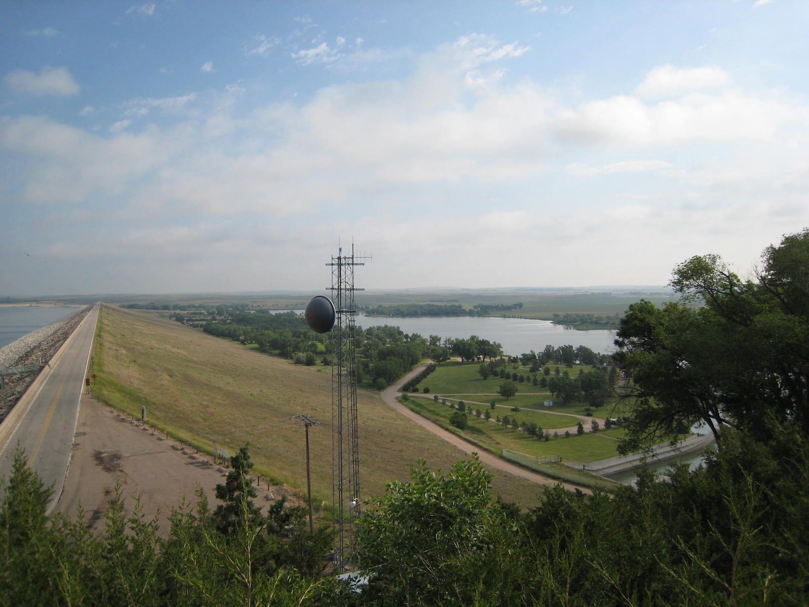 Lake Ogallala East Campground Nebraska