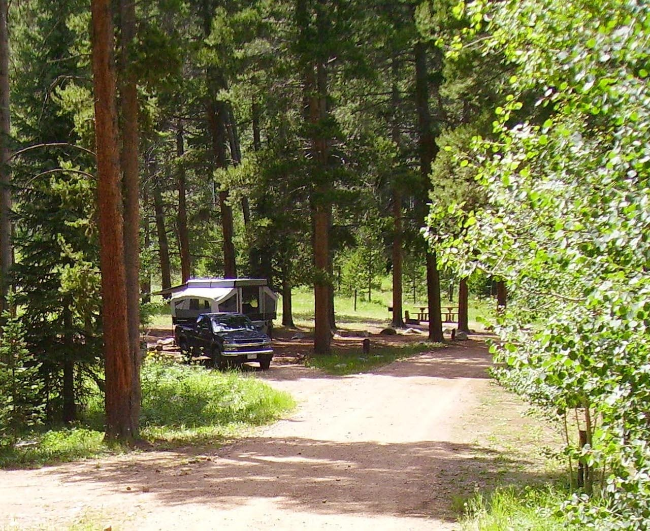 Lynx Pass Campground Yampa CO