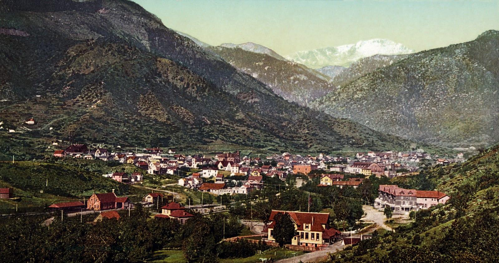 Manitou Springs CO Circa 1902