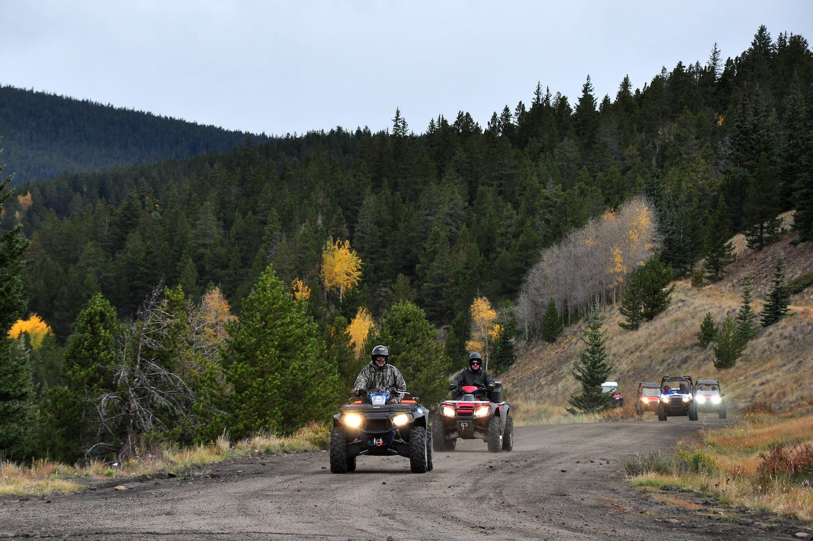 Marshall Pass Road Colorado ATVS