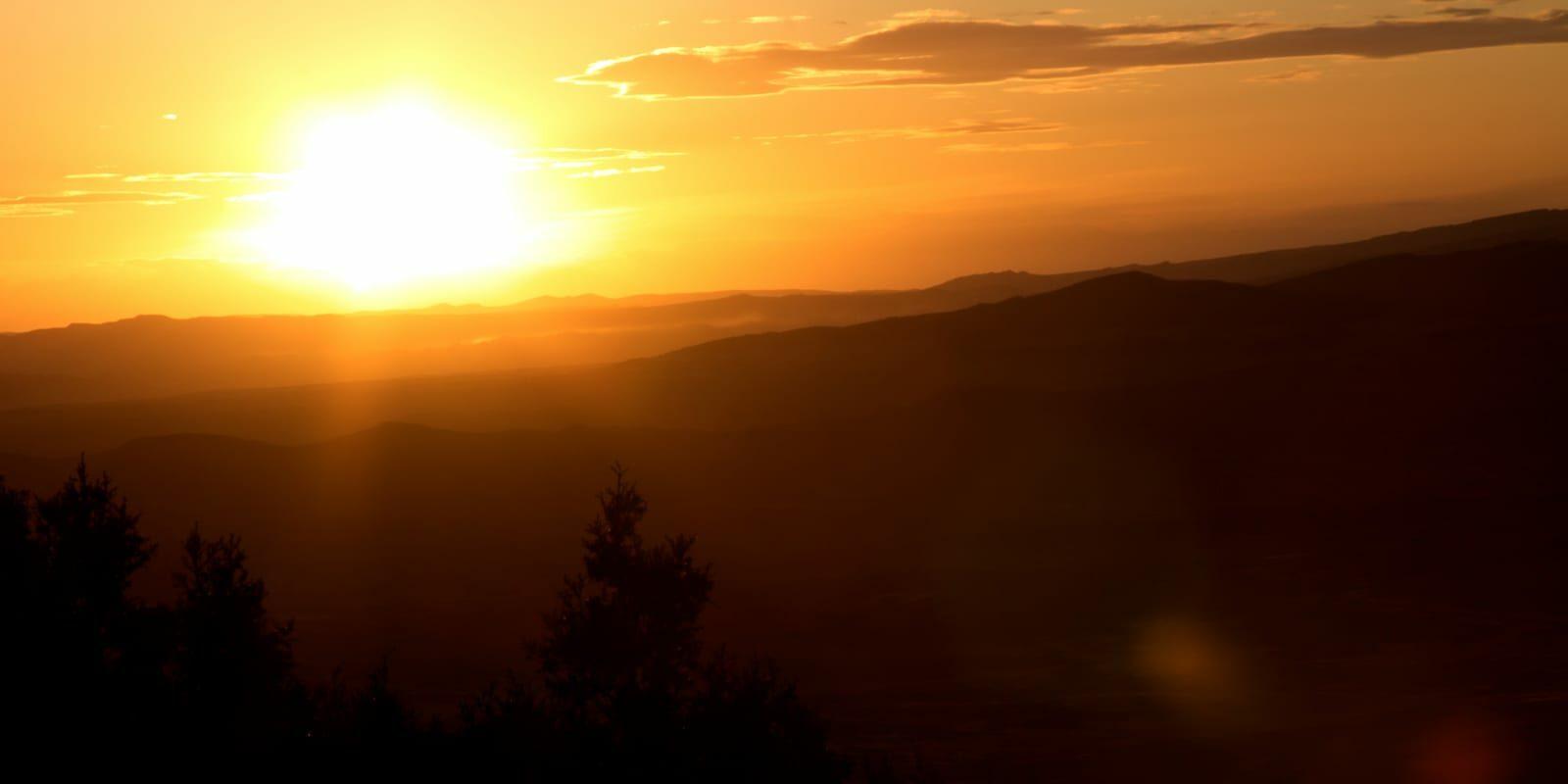 Pinyon Ridge Sunset Meeker Colorado