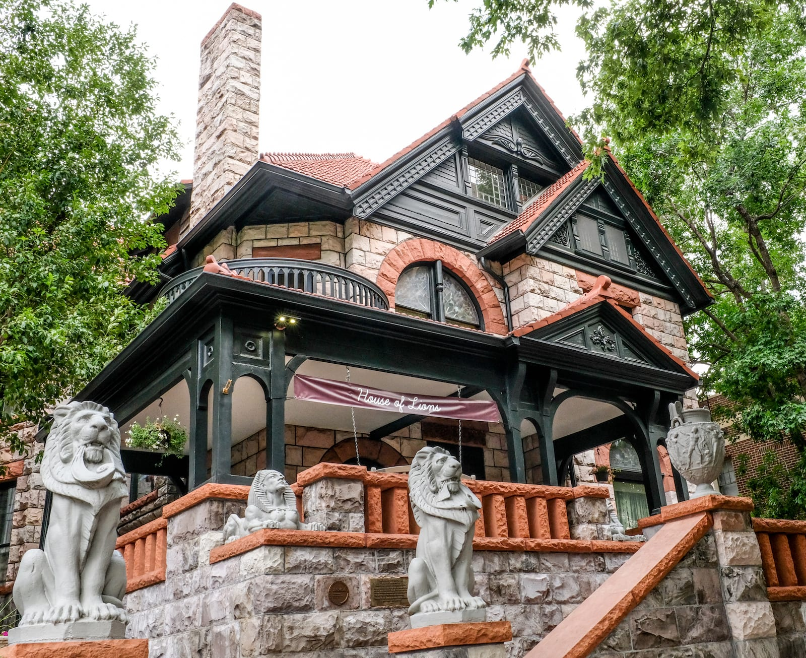 Molly Brown House of Lions Denver CO
