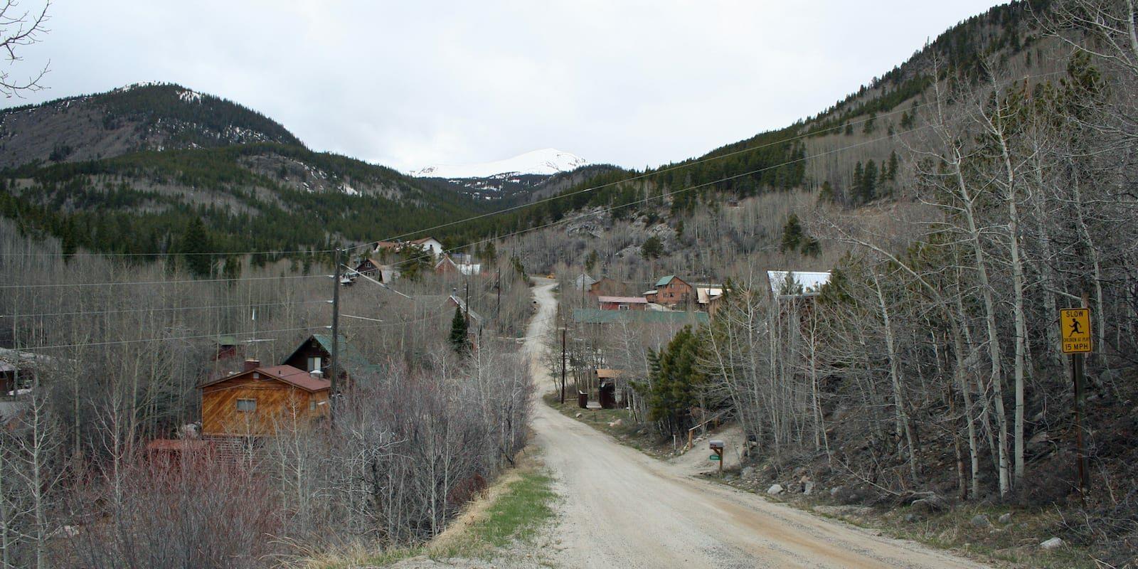Monarch Colorado Main Road