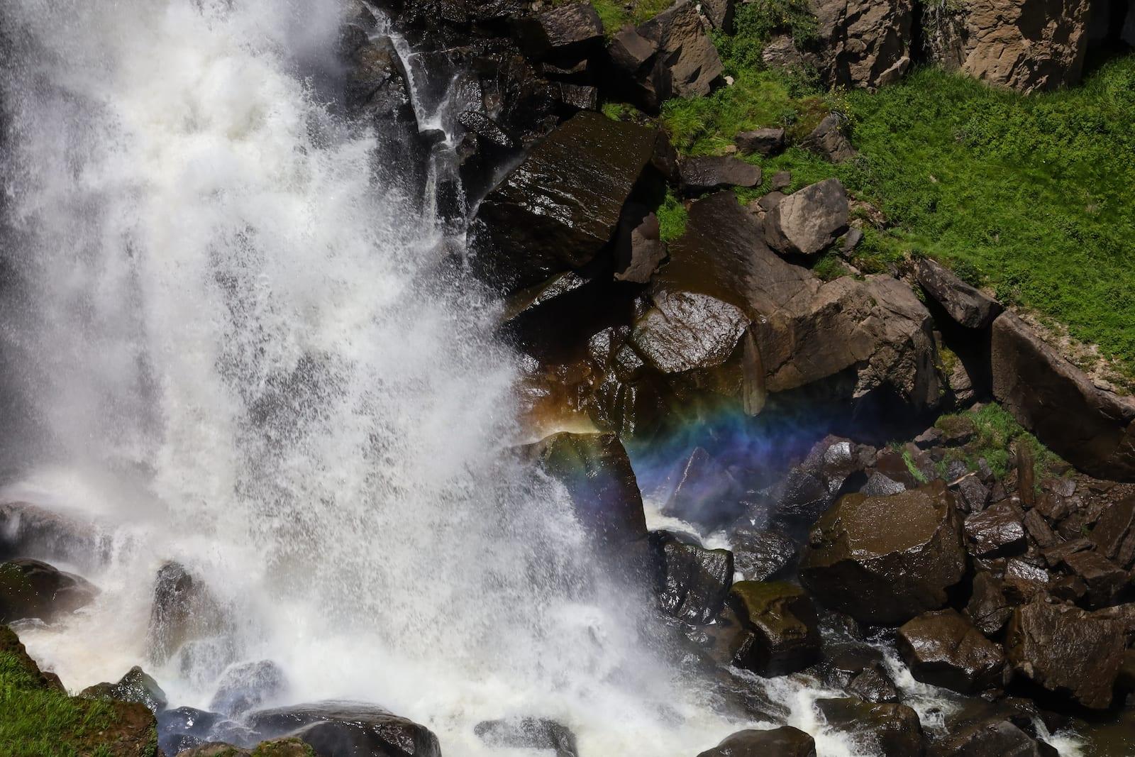 North Clear Creek Falls Rainbow Lake City CO