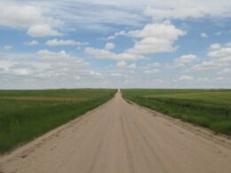 Pawnee National Grassland Road Weld CO