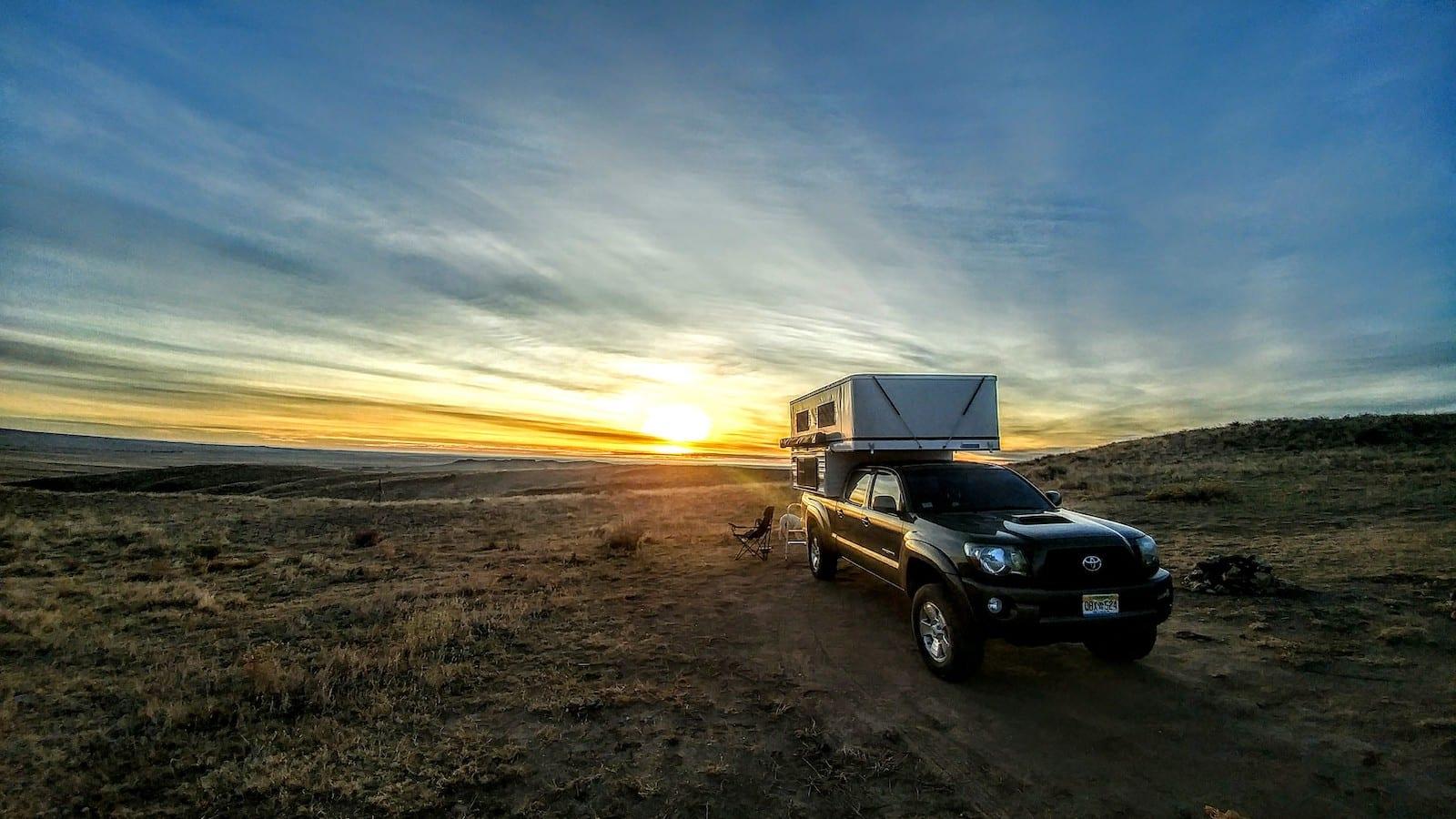 Pawnee National Grassland Truck Camper