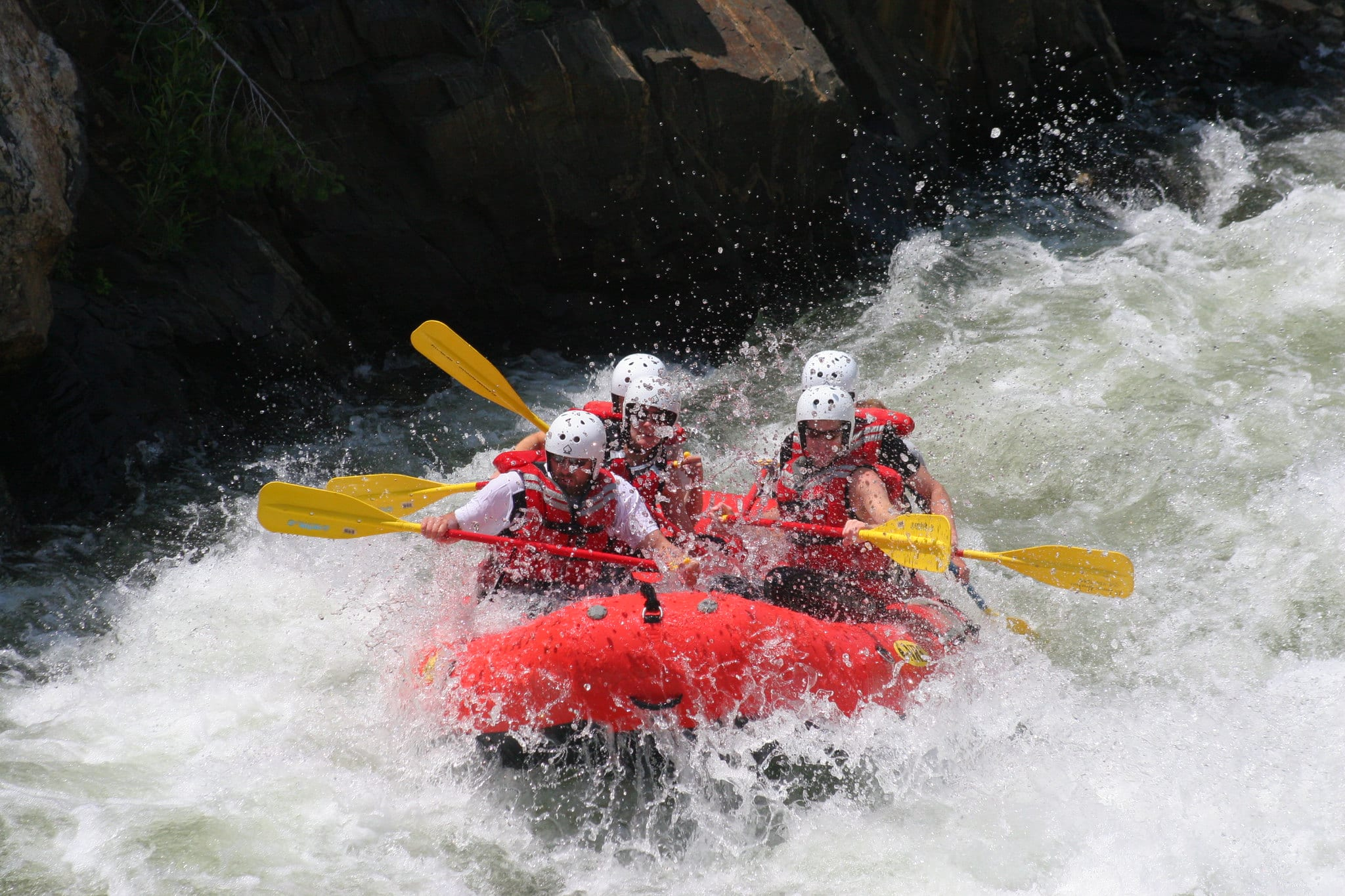 image of rafting in colorado