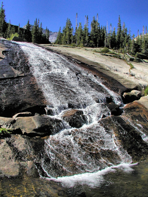 Ribbon Falls RMNP Estes Park CO