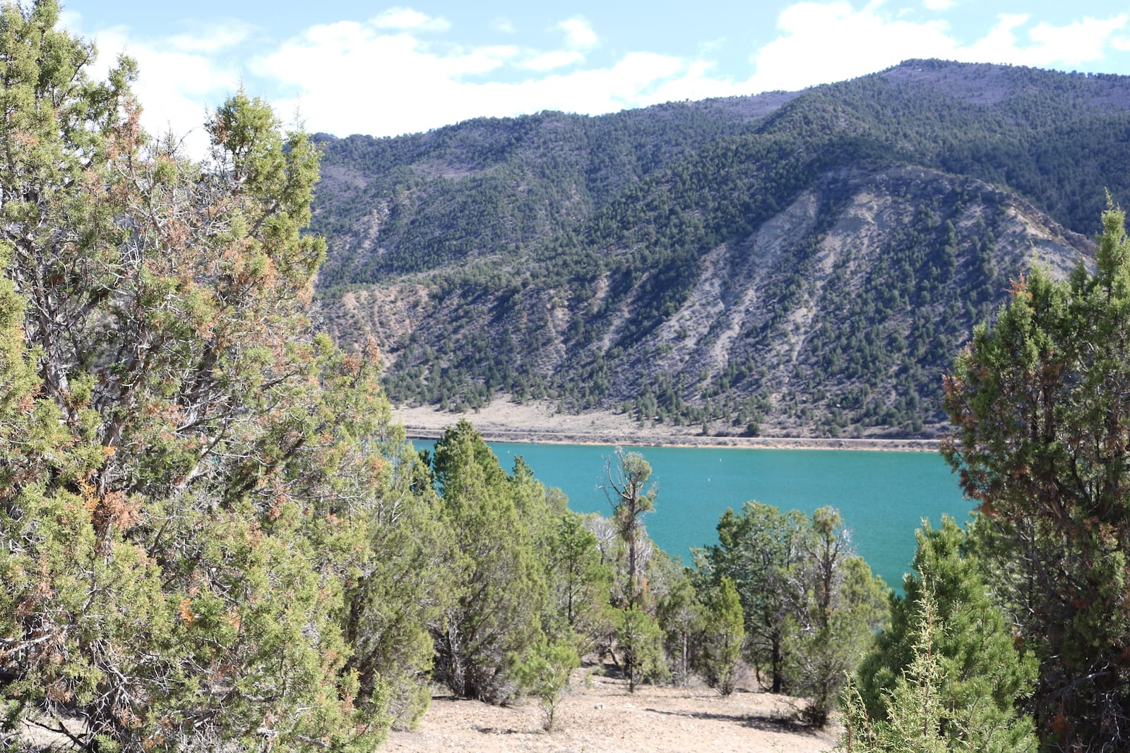 Rifle Gap Reservoir Garfield County Colorado