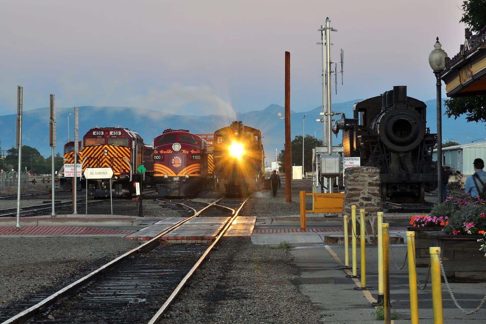 Rio Grande Scenic Railroad Alamosa CO