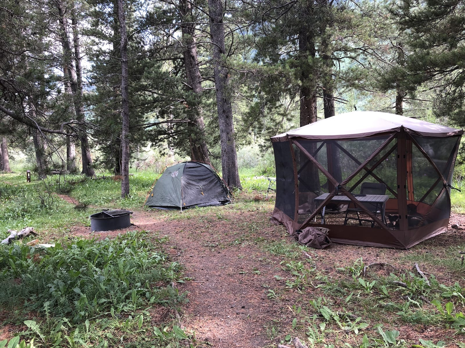 River Flats Campground Walk-In Tent Campsite