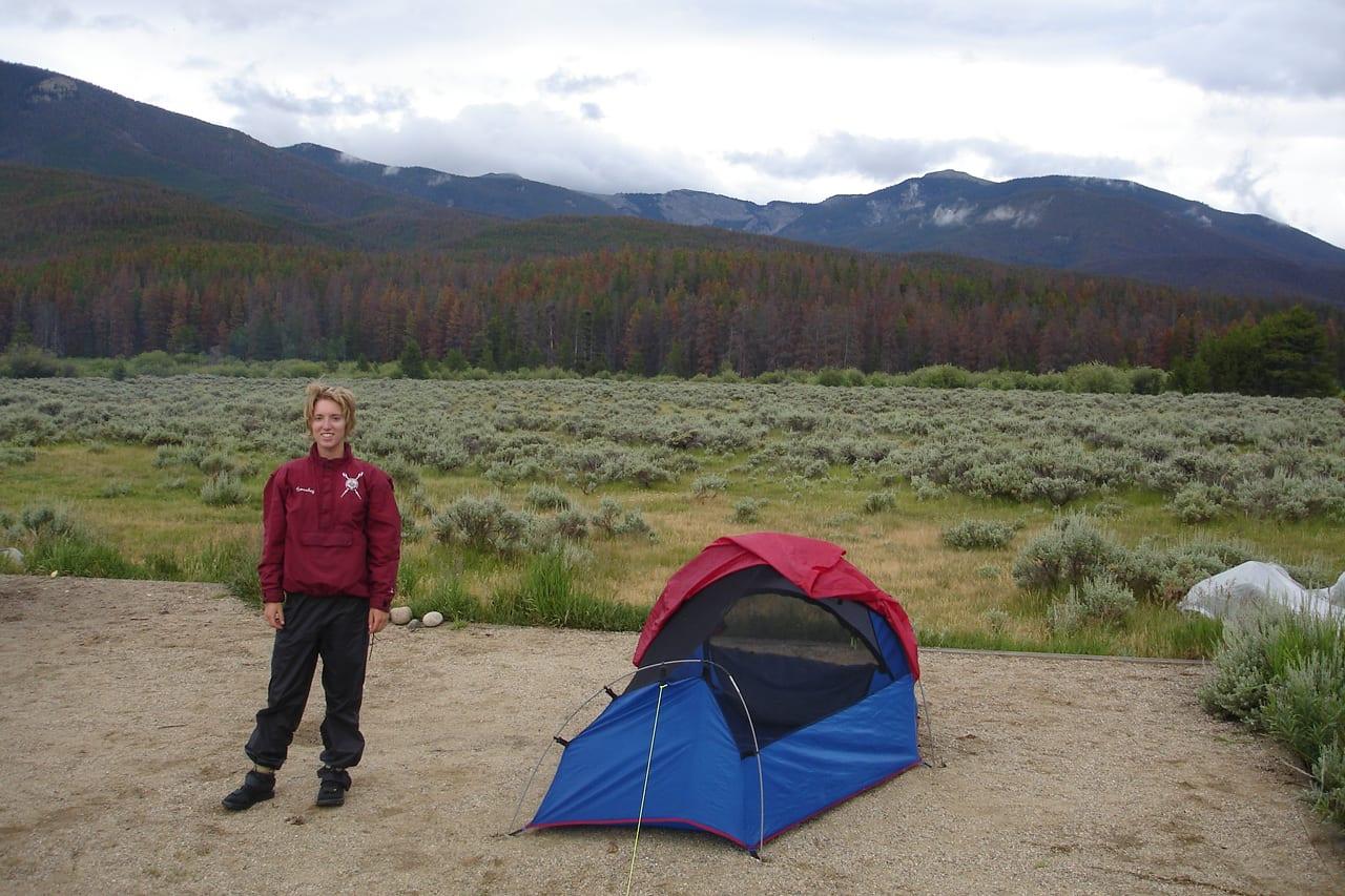 Shadow Mountain Lake Green Ridge Campground Campsite Tent