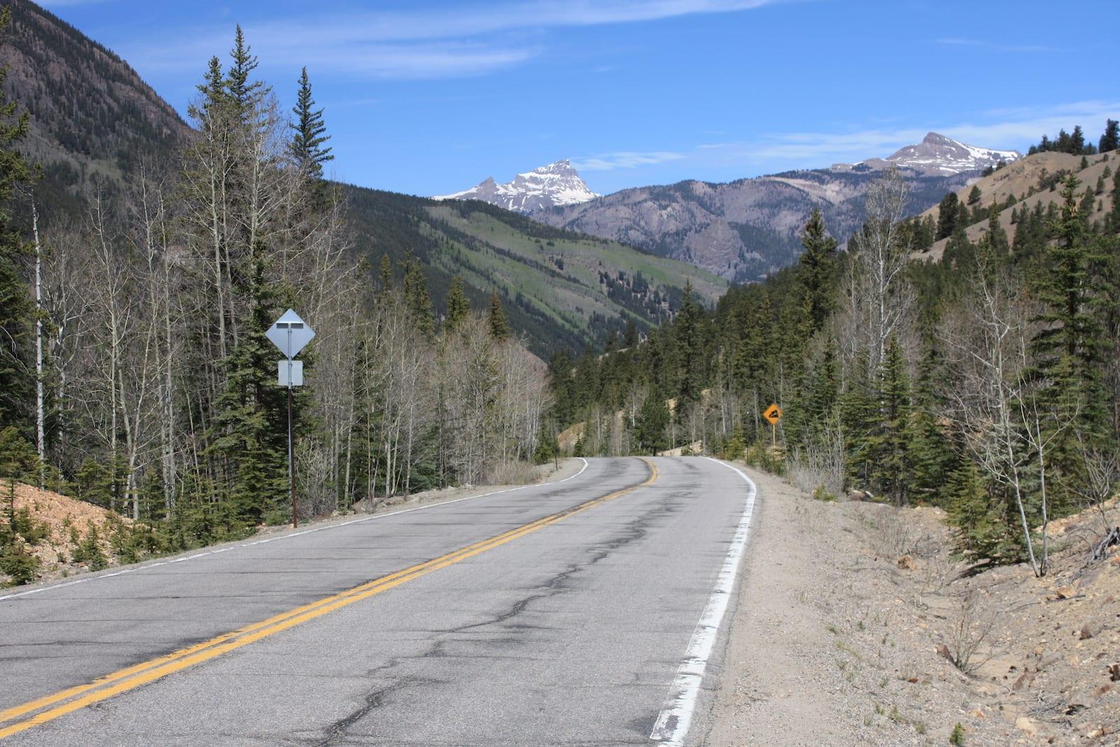 Silver Thread Scenic Byway Uncompahgre Peak