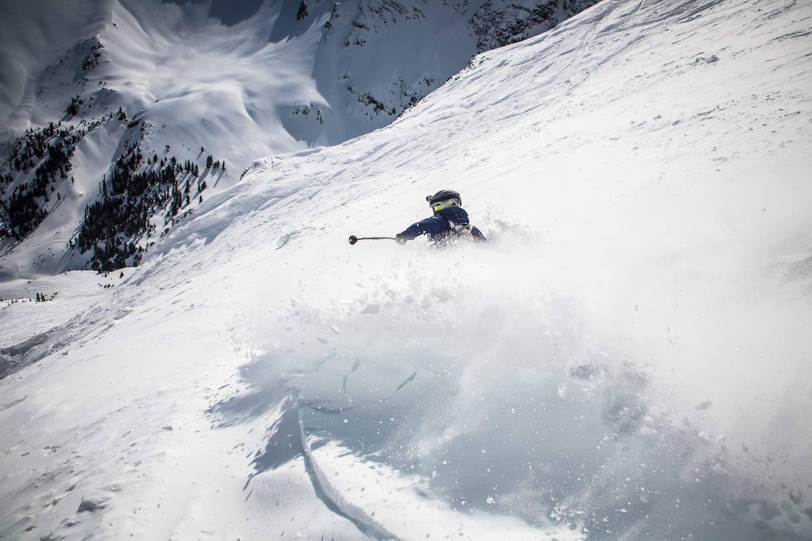 Silverton Mountain Ski Area Powder