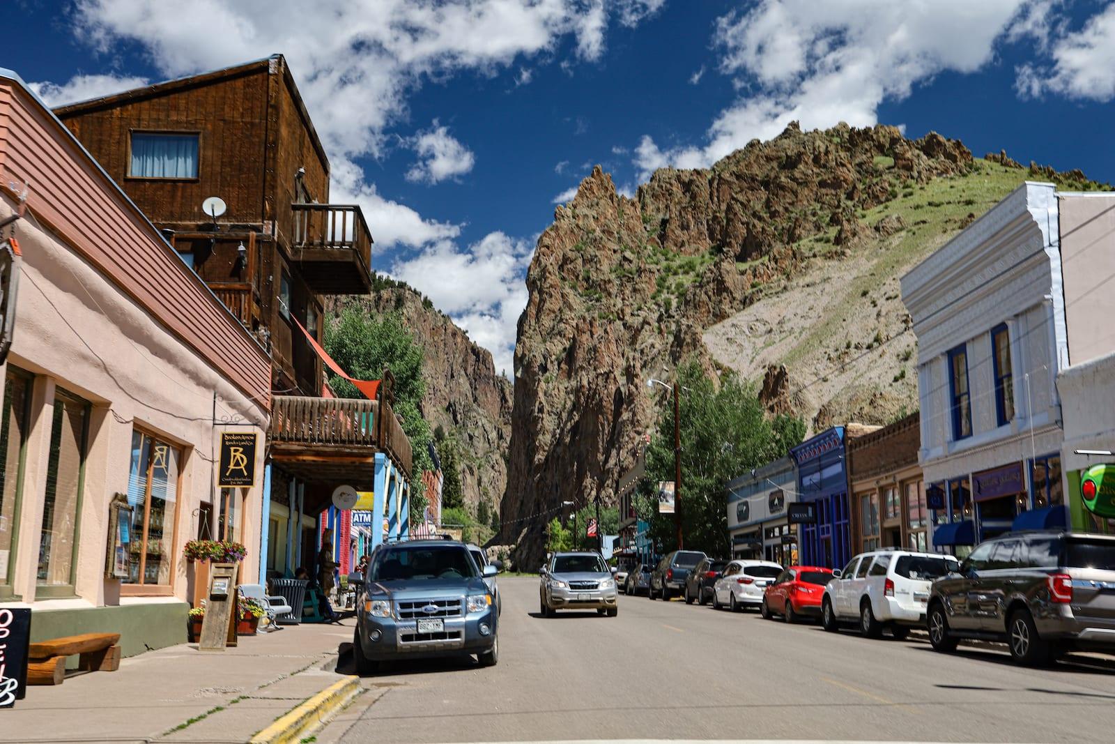 Downtown Creede Colorado