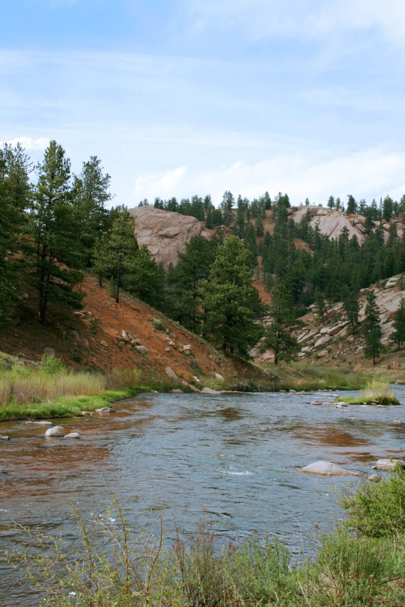 South Platte River Deckers CO