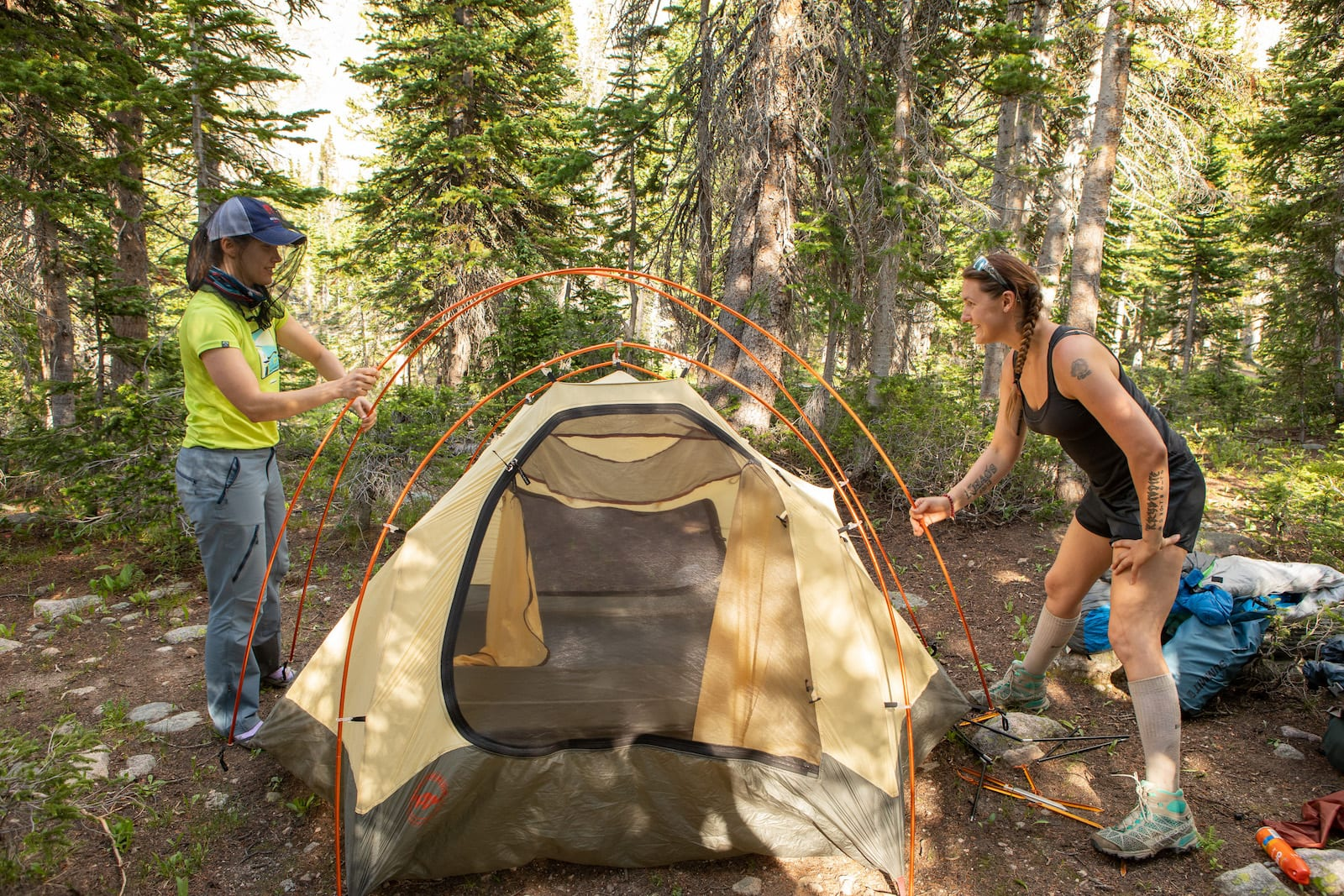 Backcountry Camping State Forest State Park Colorado