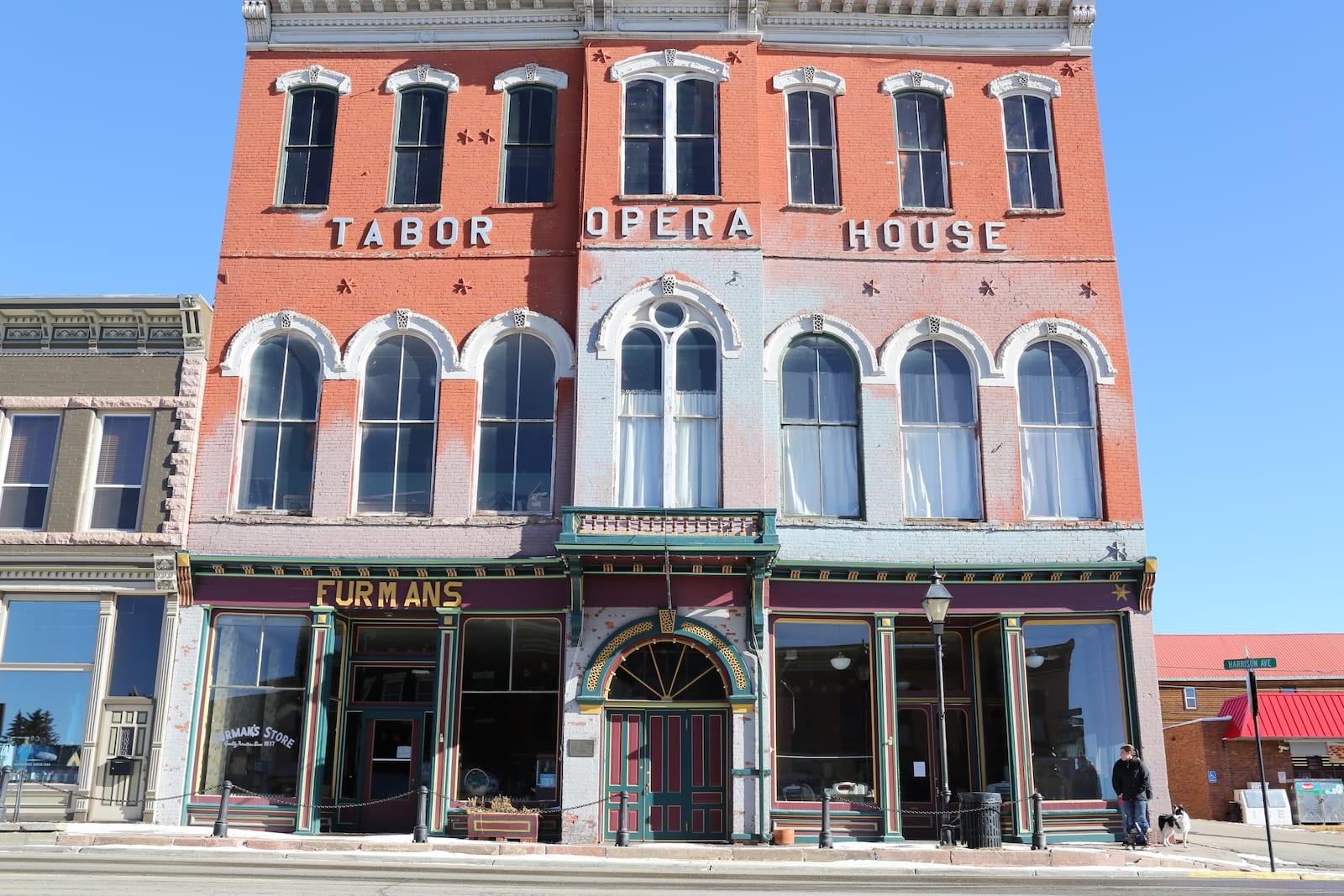 Tabor Opera House Leadville CO