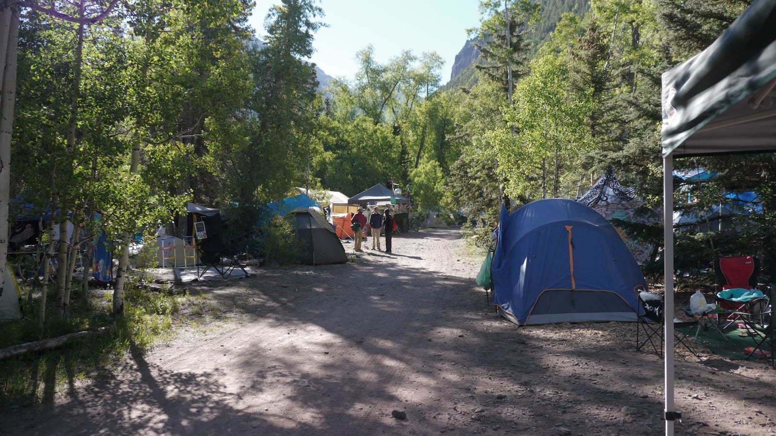Telluride Town Park Campground Colorado