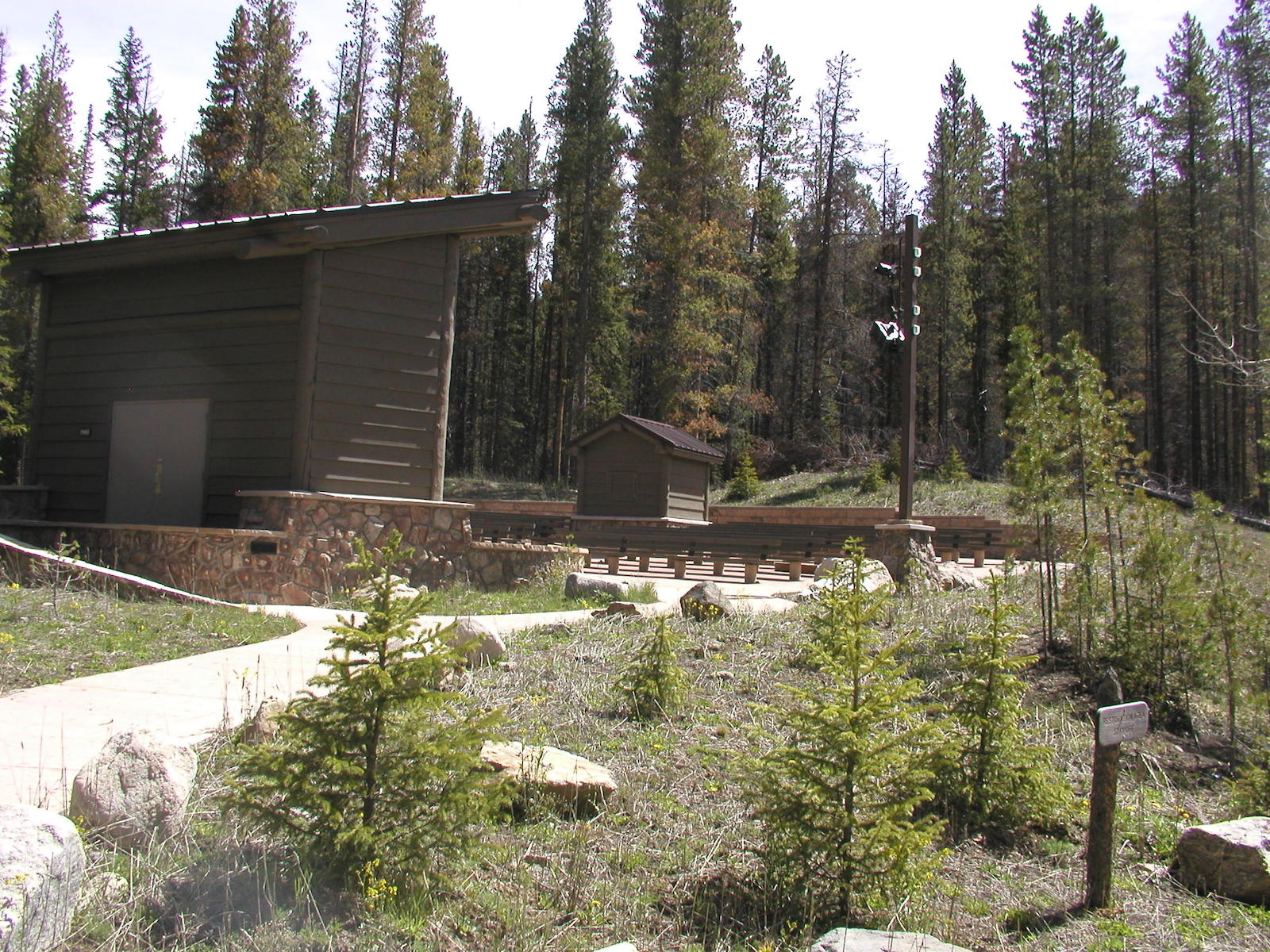 Timber Creek Campground Amphitheater Grand Lake CO