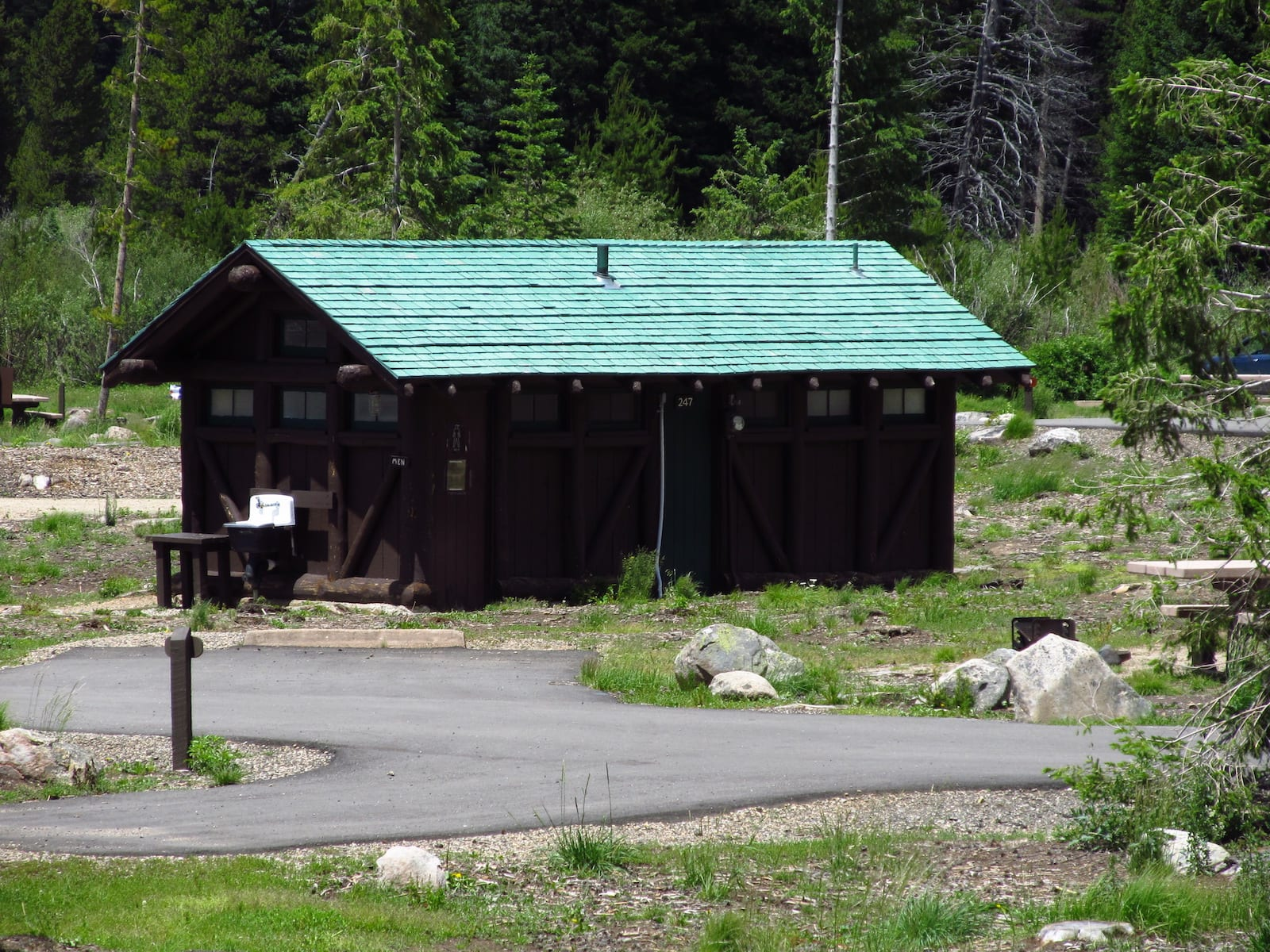 Timber Creek Campground Comfort Station