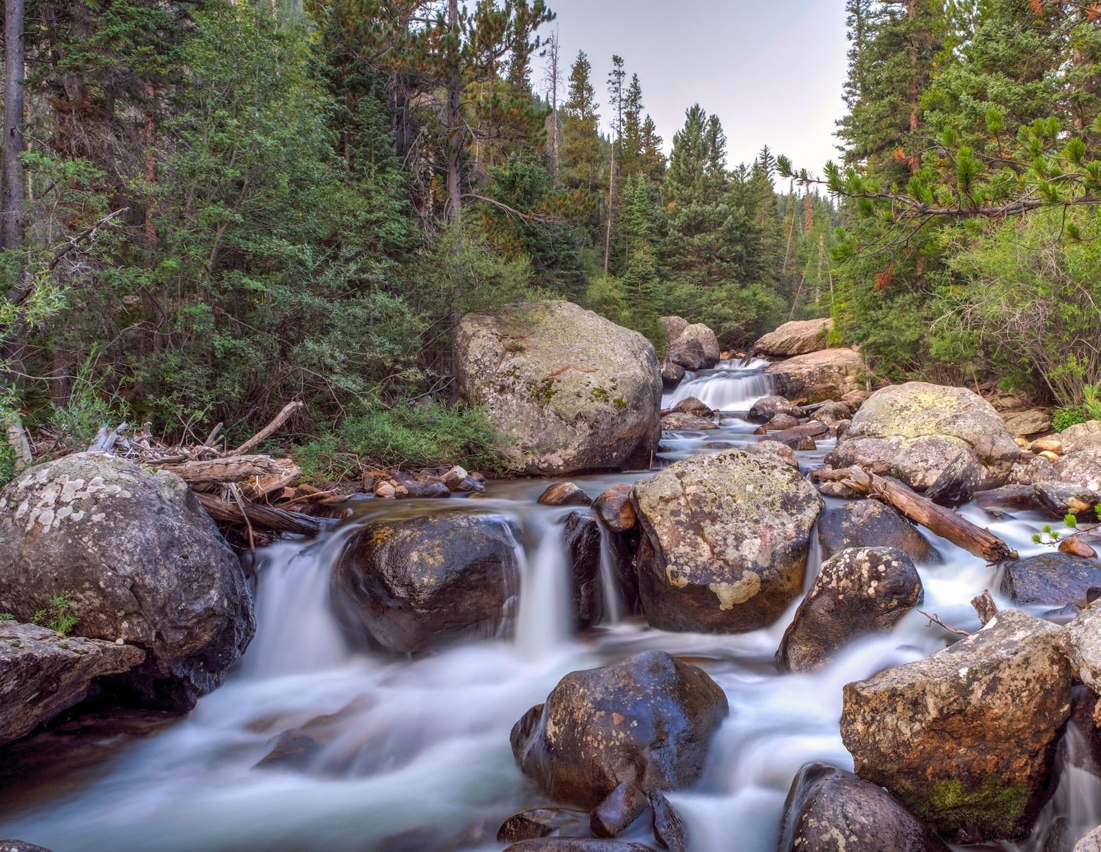 Upper Copeland Falls RMNP Estes Park