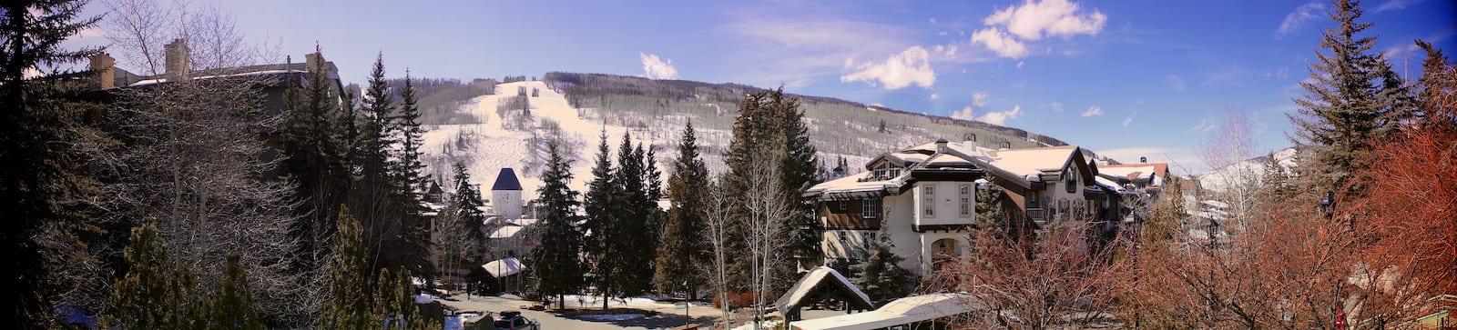 Vail Village Colorado Panorama