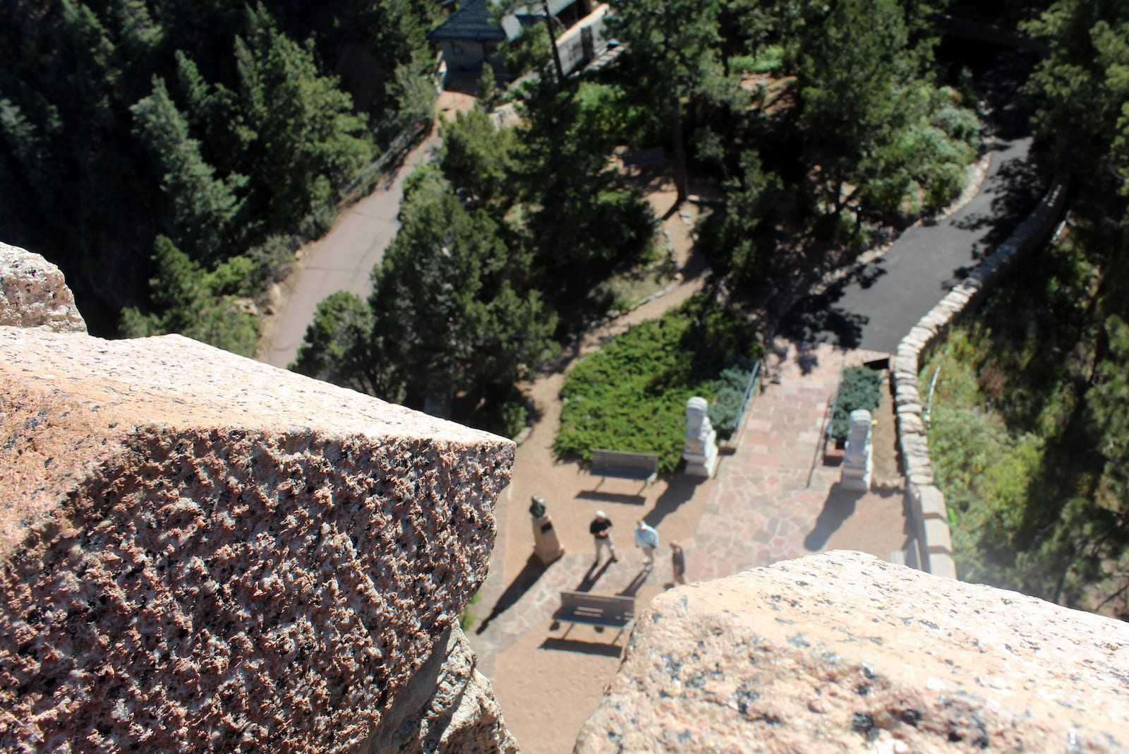 Will Rogers Shrine of the Sun Colorado Springs Will Rogers Shrine of the Sun Aerial Overlook