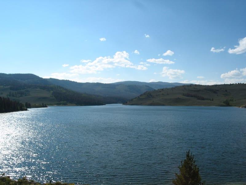 Willow Creek Reservoir Granby Colorado