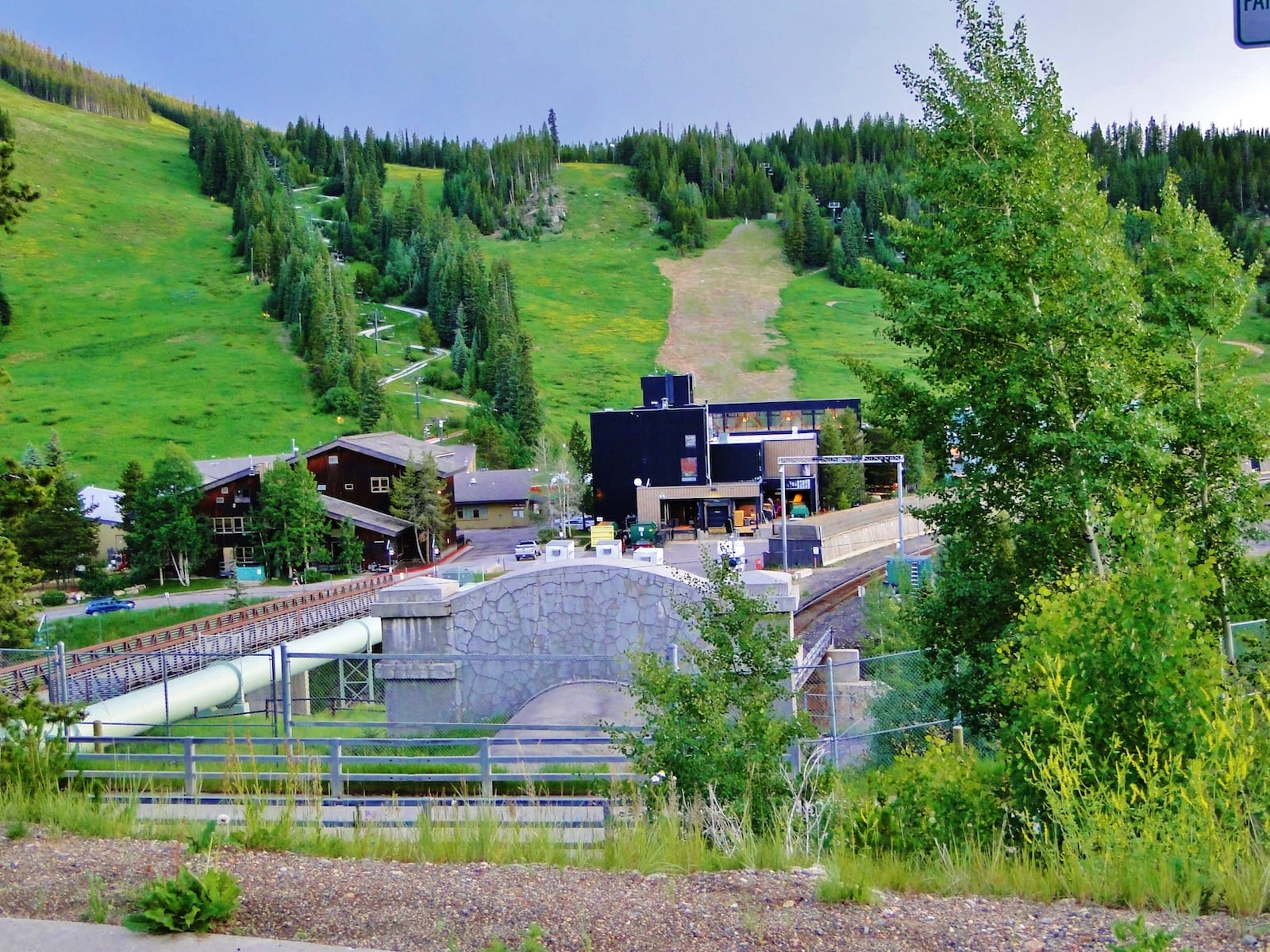 Winter Park Resort CO Railroad Tunnel