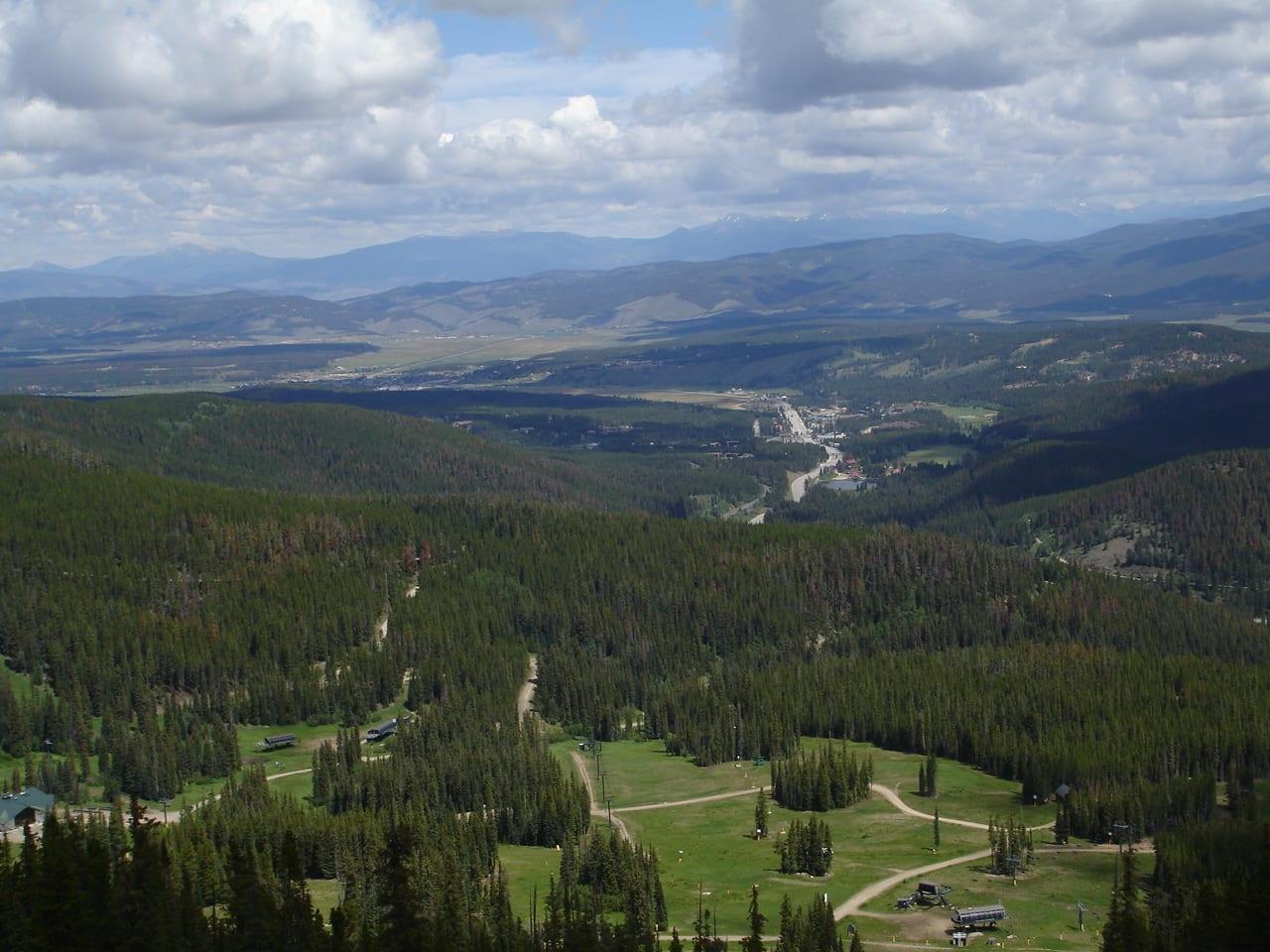 Winter Park Colorado Aerial View