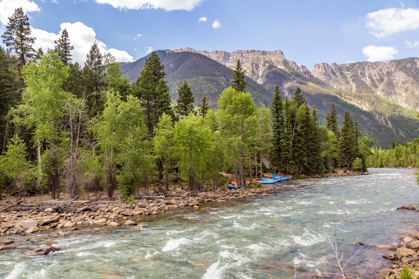A trip up the Animas River, CO