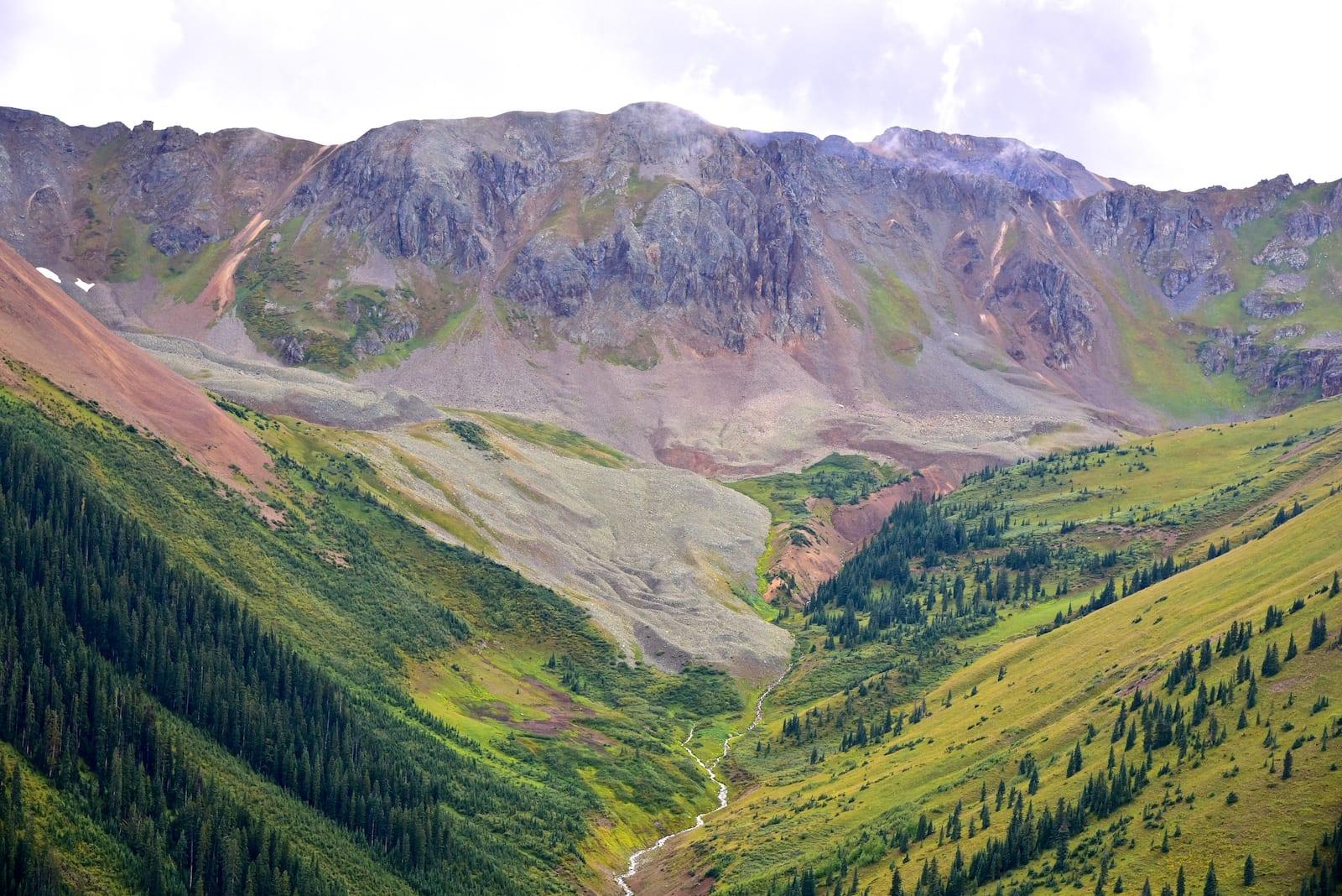 Approaching Ophir Pass, CO