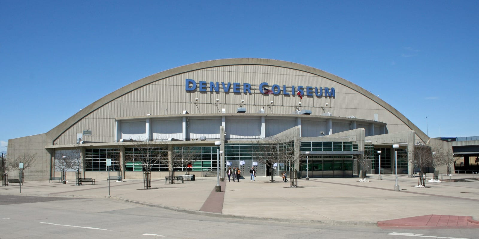 Denver Coliseum in Denver, CO