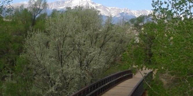 Pikes Peak Greenway Trail, CO