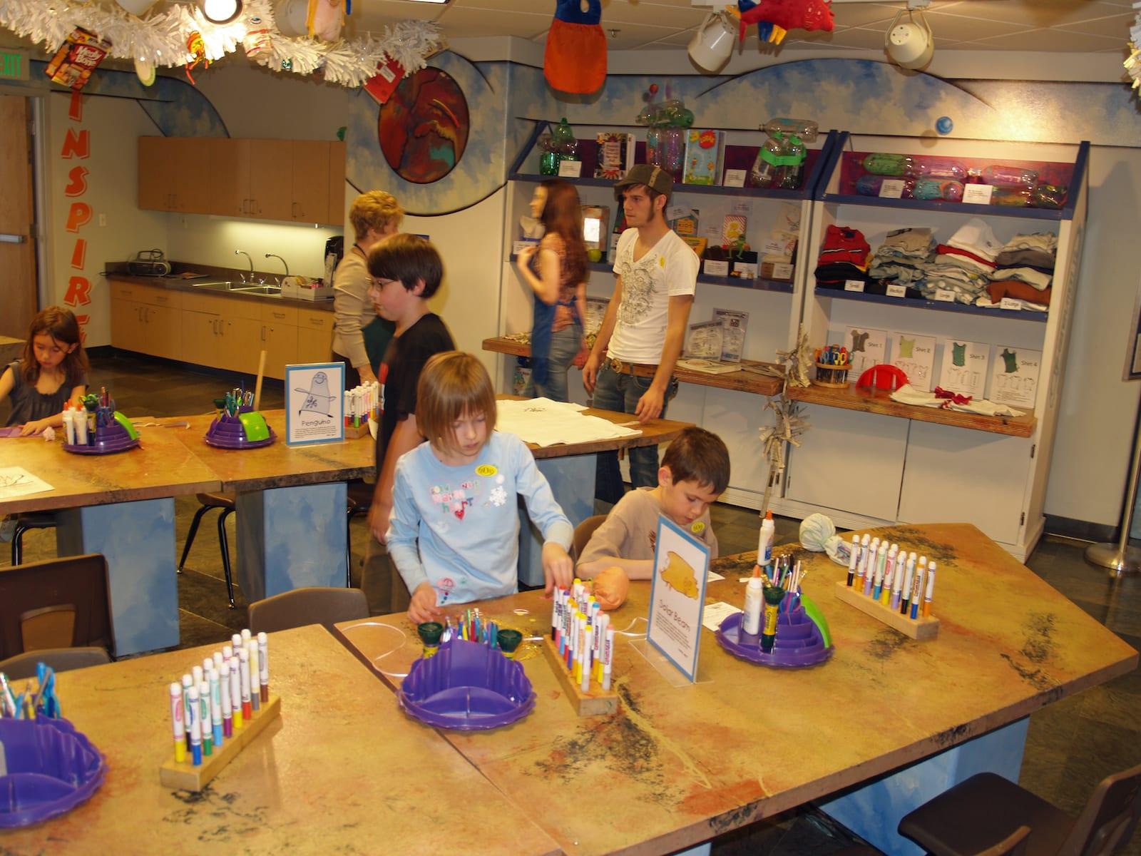 Buell Children's Museum Art Room, CO