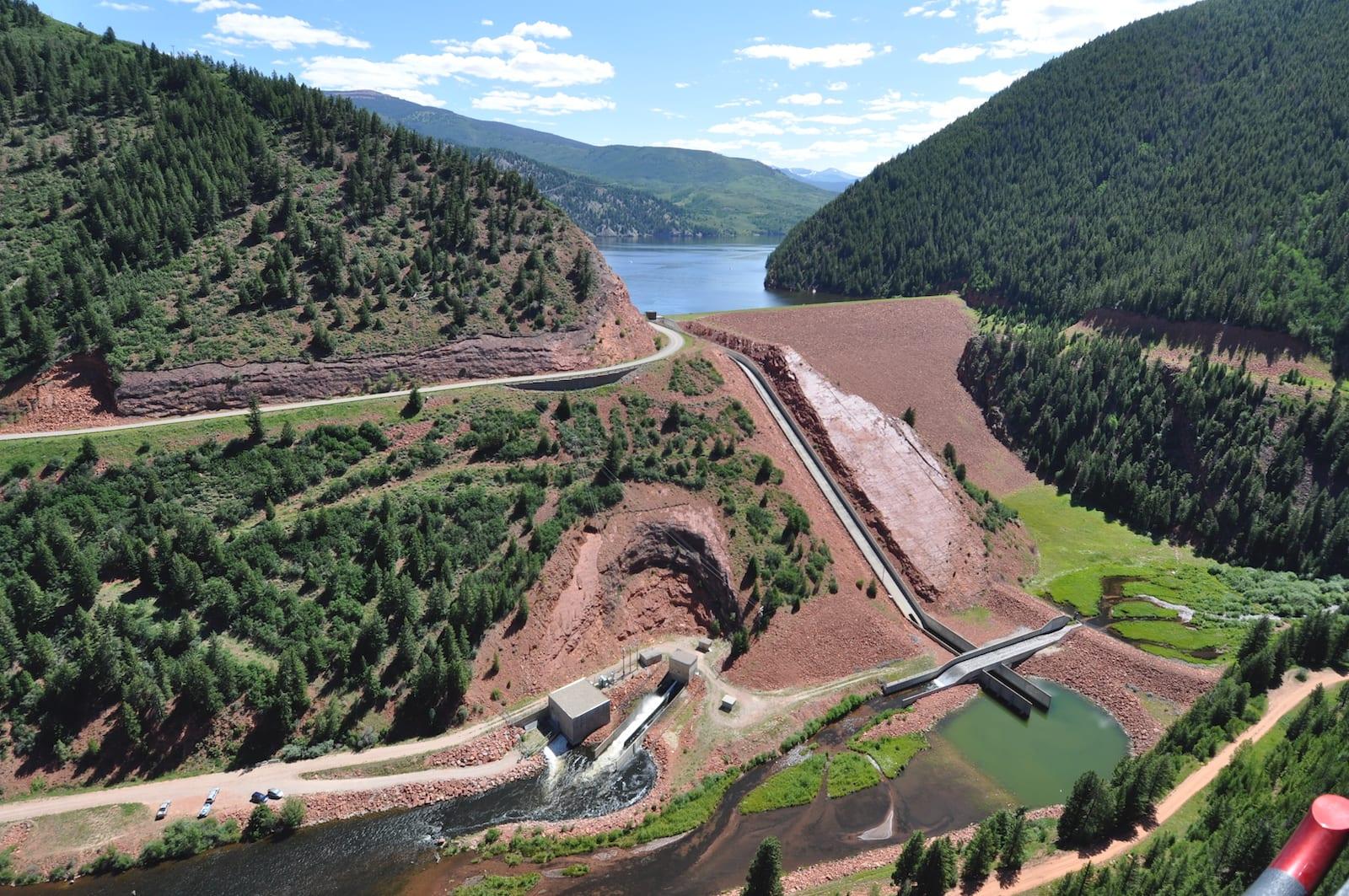 Ruedi Dam, Colorado
