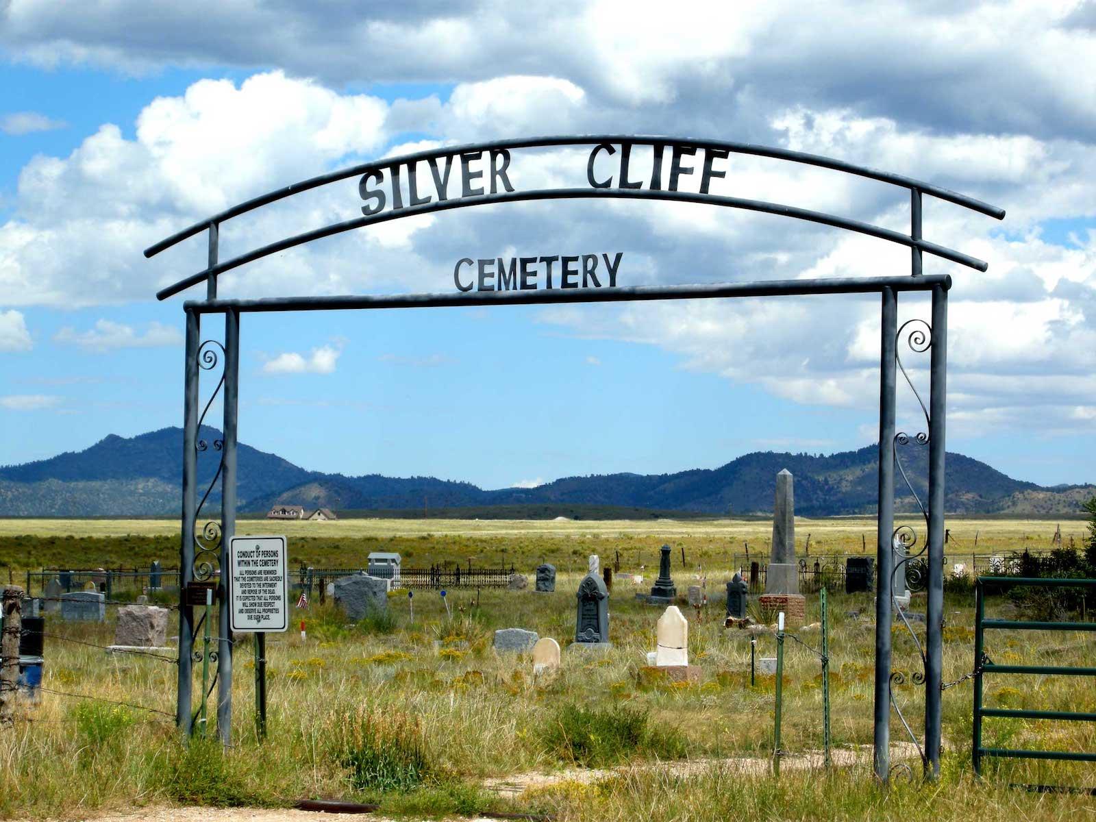Silver Cliff Cemetery, CO