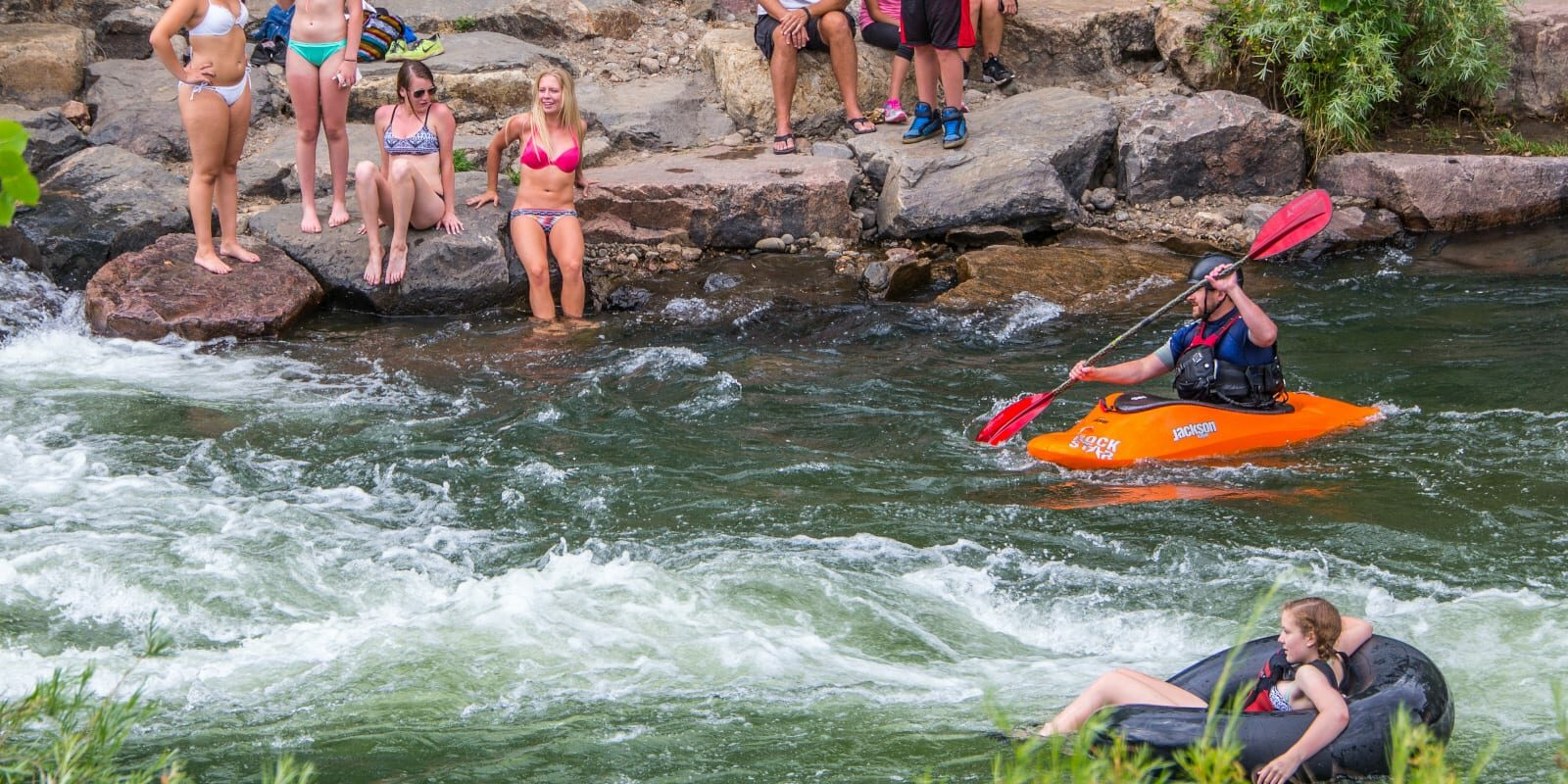 Summertime at Clear Creek, CO