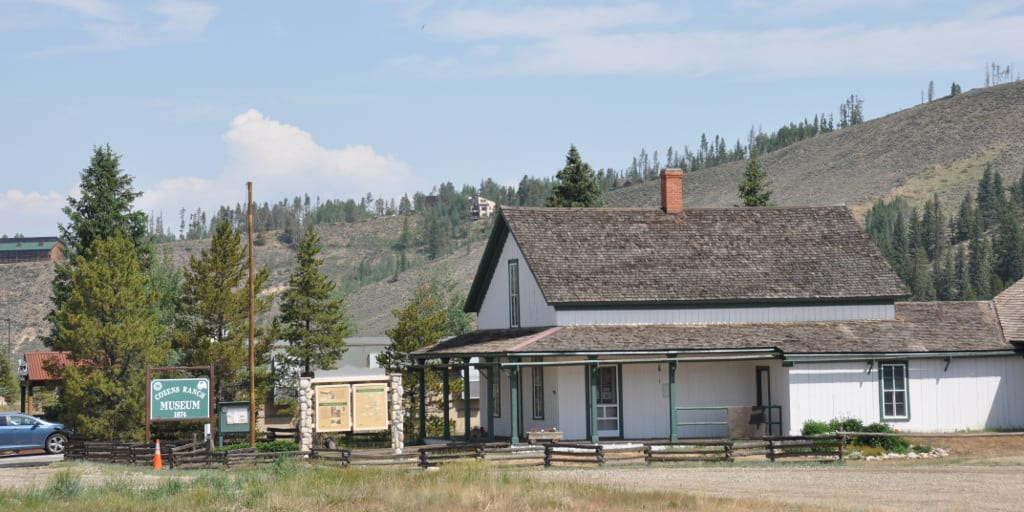 The Cozens Ranch House in Fraser, Colorado